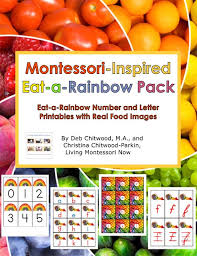 Rainbow Fruits And Vegetables Chart Free Eat A Rainbow Printables And Montessori Inspired