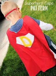 Childs Cape Pattern Mesmerizing Personalized Superhero Cape Pattern