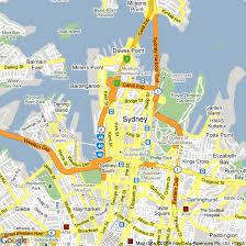 cbd sydney map