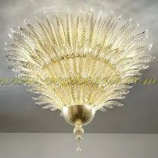 murano glass leaf chandelier golden leaves glass chandelier golden seguso murano glass leaf chandelier