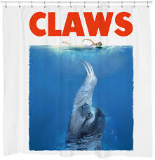 cool shower curtains. Beautiful Shower 10CLAWS Shower Curtain Throughout Cool Curtains