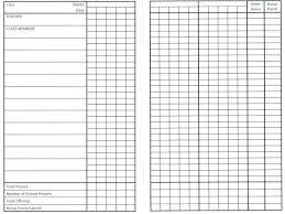 School Attendance Sheet Template Stagingusasport Info