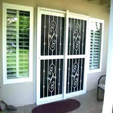 doggie door for glass sliding door security doors for sliding glass doors window security bars super
