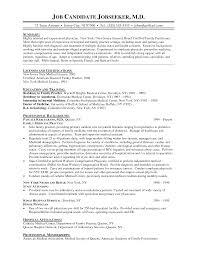 Doctor Resume Medical Cv Template Word Format Doc Mbbs Sample India
