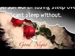 goodnight my love good night sweet