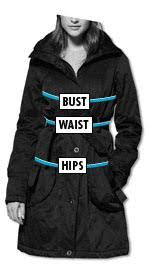 Womens Coats Jackets Size Charts Asos