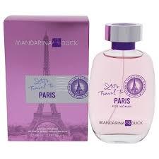 <b>Mandarina Duck Lets Travel</b> To Paris EDT Spray 3.4 oz | Wish