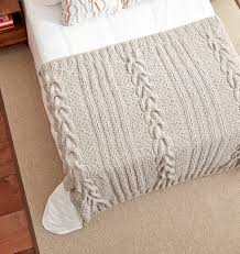 Cable Knit Blanket Pattern Custom Inspiration Ideas