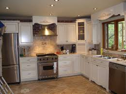 kitchen remodel ideas oak cabinets white table blue stainless