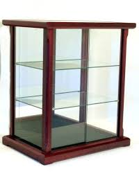 blog home a display cases glass doll case wood walnut