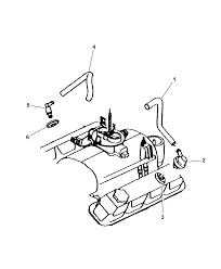 Dodge dakota engine part diagram