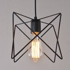 edison nordic modern star design industrial black iron fixture ceiling lamp pendant light cafe bar droplight