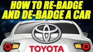 How to Re-badge and De-badge a Car [Scion FRS] [The FRS Project ...