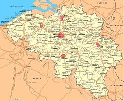 Mappa Belgio - Cartina geografica del Belgio   Belgique carte, Belgique,  Photos voyages