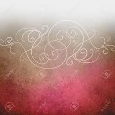 Fancy Background Design Fancy Pink And White Vintage Background Design With Elegant Curls