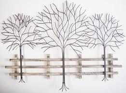 metal tree wall art contemporary metal wall art autumn tree scene for wall decor metal