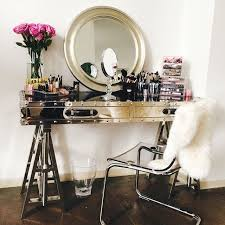 vanity with mirror and chair. sawhorse vanity with mirror and chair n