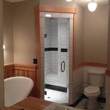 frameless shower single door
