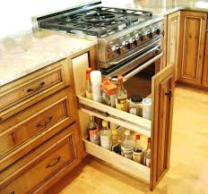 kitchen cabinet storage pull out cutting board