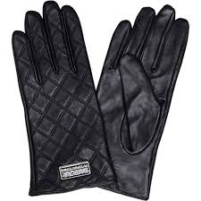 Women's Barbour International Burton Leather Gloves - Black (£55 ... & Women's Barbour International Burton Leather Gloves - Black (£55) ❤ liked  on Polyvore Adamdwight.com