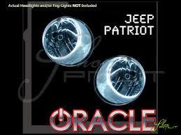 oracle 07 16 jeep patriot ccfl halo rings head fog bulbs