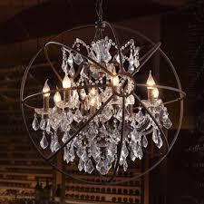 Modern Deckenlampe Vintage Kronleuchter Kristall