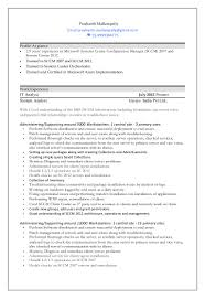 Awesome Sccm Resume Pictures Simple Resume Office Templates