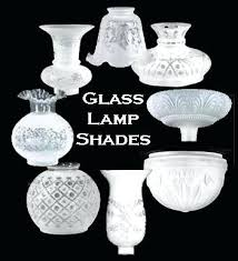glass lamp shades at the antique co globes for floor lamps