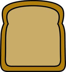 slice of bread outline. Beautiful Slice Paint The Toast With Jam  Give Your Child Purple Paint For The  Intended Slice Of Bread Outline