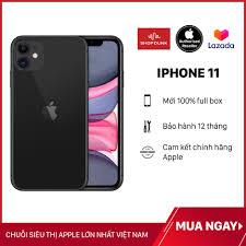 Điện thoại Apple iPhone 11 64GB 1Sim, Hàng Chính Hãng VN/A (Chưa Kích Hoạt)  Mới 100%, Bảo Hành 12 Tháng - Shopdunk