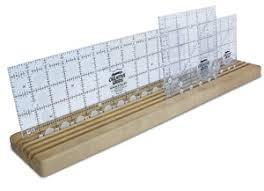 Omnigrid Wooden Ruler Rack | Sewing Wishlist | Pinterest | Wooden ... & Omnigrid Wooden Ruler Rack Adamdwight.com