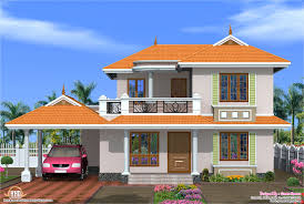 Small Picture 4 Bedroom Kerala model house design Kerala home design and floor