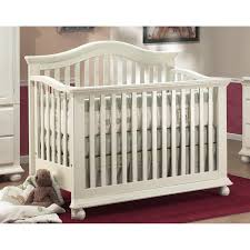 All In One Crib Gray Crib With Attached Changing Tablegrey Convertible Crib With