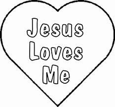 Jesus Love Coloring Pages Jesus Loves Me Coloring Page Love Coloring