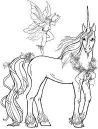 Unicorno E Fatina Disegno Da Stampare E Da Colorare Disegni Da