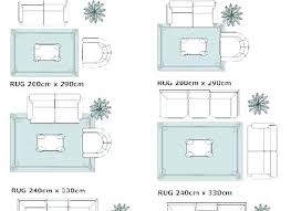 Living Room Rug Sizes Chart Bedroom Rug Size Trienviet Co