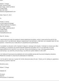 Gallery Of Application Letter Sample Medical Technologist