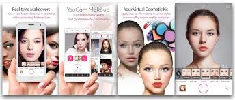 youcam makeup app selfie makeover