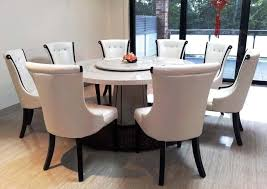 large round dining table 8 chairs round table ideas intended for round dining room tables for 8