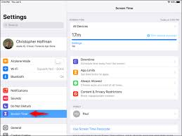 Iphone Disable Times Chart How To Use And Configure Screen Time On Your Iphone Or Ipad