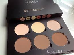 anastasia beverly hills contour kit powder light to um