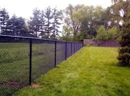 Black Vinyl 4 Rail Horse Fence Fences Design