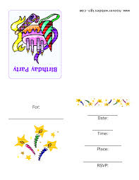 good birthday party invitations templates com creative printable party invitations templates at efficient birthday