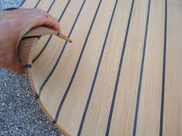 stylish teak laminate flooring for boats nuteak has that luxurious look and feel of authentic teak boat