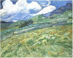 as the years went by he developed his own highly distinctive style of painting using expressive brushstrokes and colors