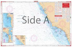 Ocean Charts California California And Mexico Waterproof Charts Navigation And