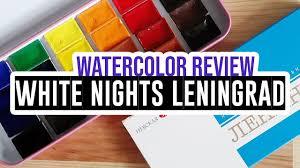 Review Demo Leningrad Watercolor Set Of 24 Colors
