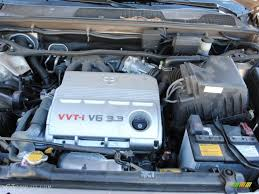 2005 Toyota Highlander V6 4WD 3.3 Liter DOHC 24-Valve VVT-i V6 ...