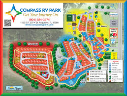 p rv park site map