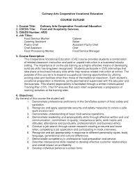 Food Service Job Description Resume Professional Resume Templates